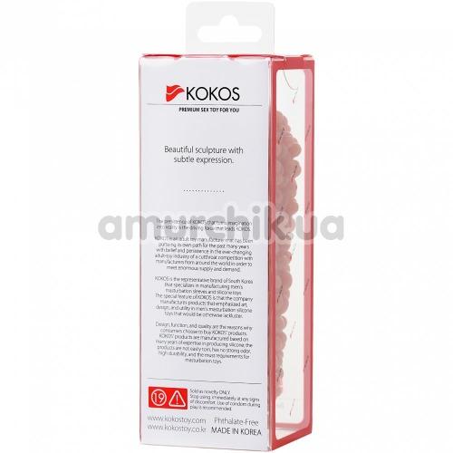 Насадка на пенис Kokos Extreme Sleeve ES.08 S 004, телесная