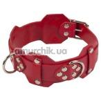 Ошейник sLash Vip Leather Collar, красный - Фото №1