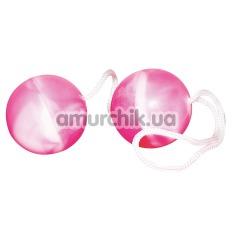 Вагинальные шарики Agitating Marballs, розовые