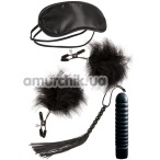 Набор из 4 предметов Guilty Pleasure Vibrator Gift Set, чёрный - Фото №1