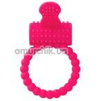 Виброкольцо A-Toys Cock Ring 769005, розовое - Фото №1