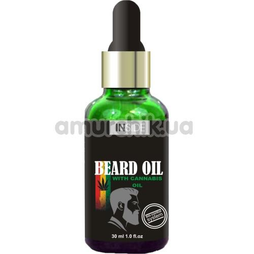 Средство для бороды с конопляным маслом Inside Beard Oil with Cannabis Oil, 30 мл - Фото №1