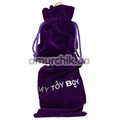 Чехол для хранения секс-игрушек My Toy Boy фиолетовый - Фото №1
