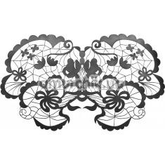 Маска на глаза Bijoux Indiscrets Anna Mask, черная - Фото №1