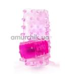 Вибронасадка на пенис Brazzers RC012, розовая - Фото №1