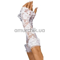 Перчатки Lace Gloves, белые - Фото №1