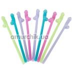 Трубочки для напитков Drinking Straw Penis G.I.D., 8 шт - Фото №1