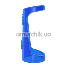 Эрекционное кольцо Get Lock Double Girth Cages, синее - Фото №1