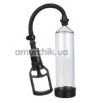Вакуумная помпа Menz Stuff Trigger Handle Penis Pump, прозрачная - Фото №1