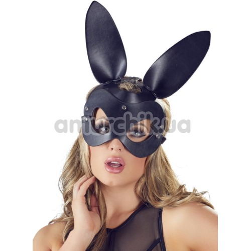 Маска Кролика Bad Kitty Naughty Toys Head Bunny Mask, черная - Фото №1