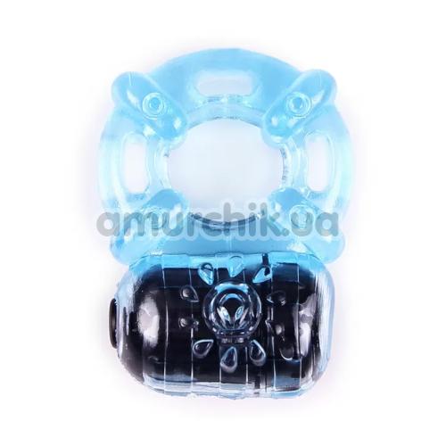 Виброкольцо Brazzers RC011F, голубое