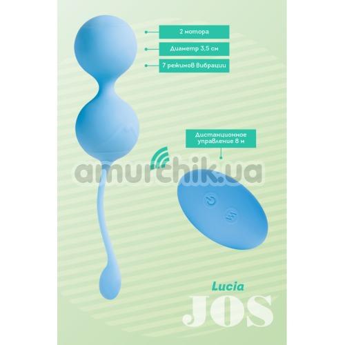Вагинальные шарики JOS Lucia, голубые