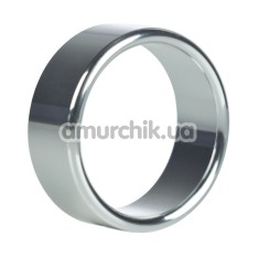 Эрекционное кольцо Alloy Metallic Ring, серебряное - Фото №1