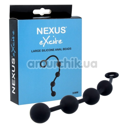 Анальная цепочка Nexus Excite Large Anal Beads, черная
