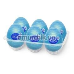 Набор из 6 мастурбаторов Tenga Egg Wavy Cool Edition - Фото №1