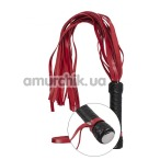 Плеть S&M Tantra Flogger Black&Red, черно-красная - Фото №1