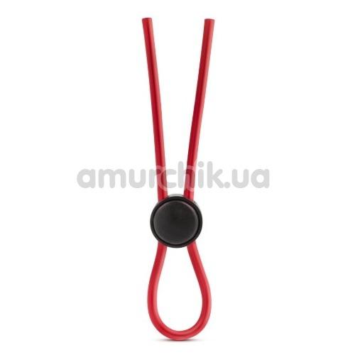 Эрекционное кольцо Stay Hard Silicone Loop Cock Ring, красное
