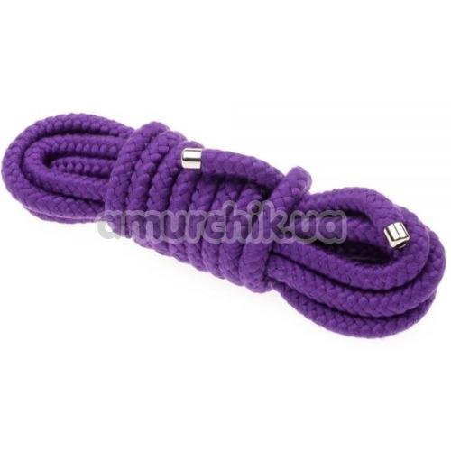 Веревка sLash Bondage Rope Purple 5м, фиолетовая