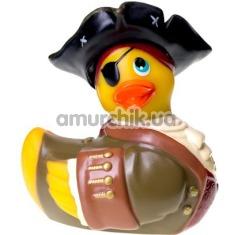 Клиторальный вибратор I Rub My Duckie Pirate, желтый - Фото №1