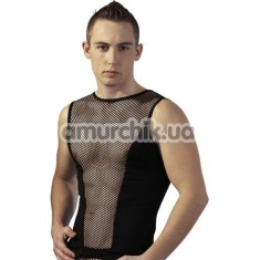 Майка мужская Fishnet Tank Top, черная - Фото №1