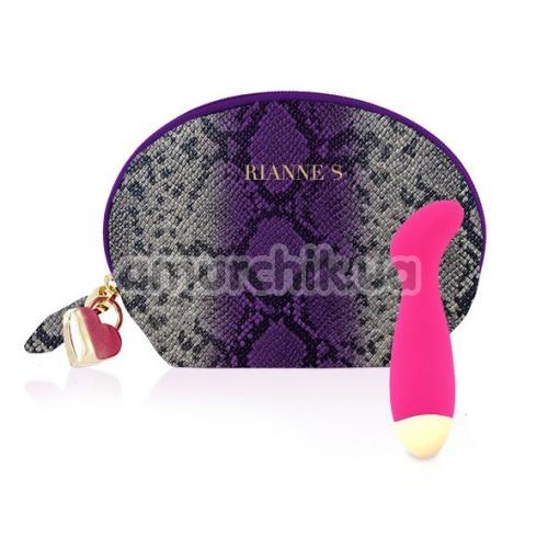 Вибратор для точки G Rianne S Boa Mini, розовый