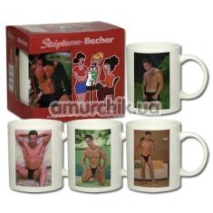 Чашка Stripbecher - мужчина - Фото №1