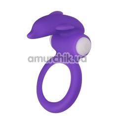 Виброкольцо Lovetoy X-Basic LV1425, фиолетовое