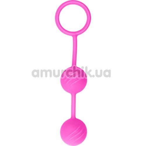 Вагинальные шарики Lovetoy Kegel Ball, розовые - Фото №1