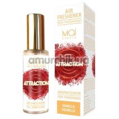 Спрей для помещения с феромонами Mai Scents Attraction Air Freshener Vanilla - ваниль, 30 мл - Фото №1