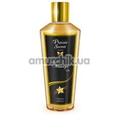 Массажное масло Plaisir Secret Paris Huile Massage Oil Vanilla - ваниль, 250 мл - Фото №1