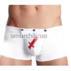 Трусы-шорты мужские Svenjoyment Underwear Медбрат, белые - Фото №1