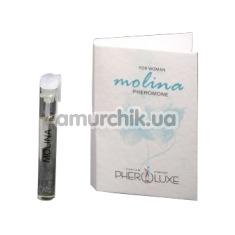 Туалетная вода с феромонами Pheroluxe Molina - реплика Lacoste, 2 мл для женщин - Фото №1