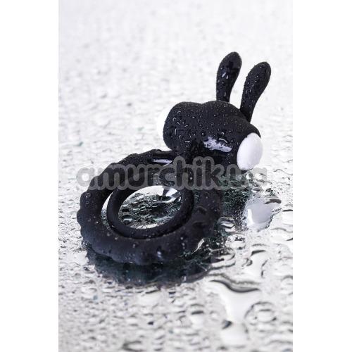 Виброкольцо JOS Good Bunny, чёрное