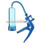 Вакуумная помпа Bang Bang Penis Pump, синяя - Фото №1