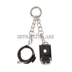 Брелок в виде наручников sLash Handcuffs Smooth, черный - Фото №1