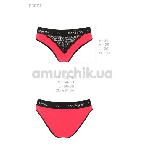 Трусики Passion PS001 Panties, красные