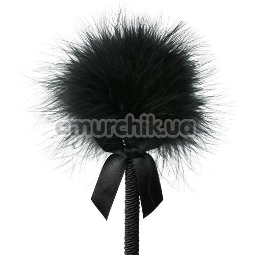 Пёрышко для ласк Sportsheets Midnight Feather Tickler, чёрное
