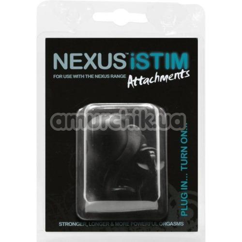 Набор из 3 электродов для массажеров простаты Nexus Istim Attachments, черный