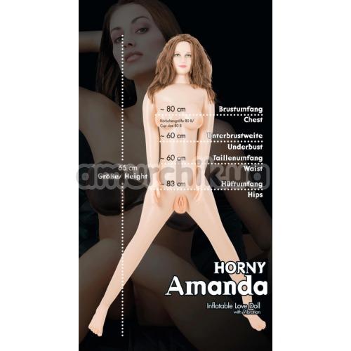 Секс-кукла с вибрацией Horny Amanda