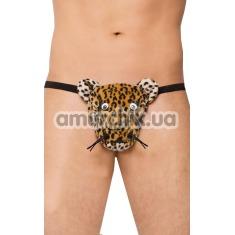 Трусы-стринги мужские Thong леопард (модель 4510) - Фото №1