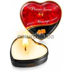 Массажная свеча Plaisir Secret Paris Bougie Massage Caramel - карамель, 35 мл - Фото №1