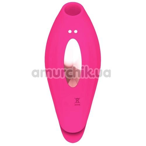 Симулятор орального секса с вибрацией для женщин Sucking Vibrator PL-VR292, розовый