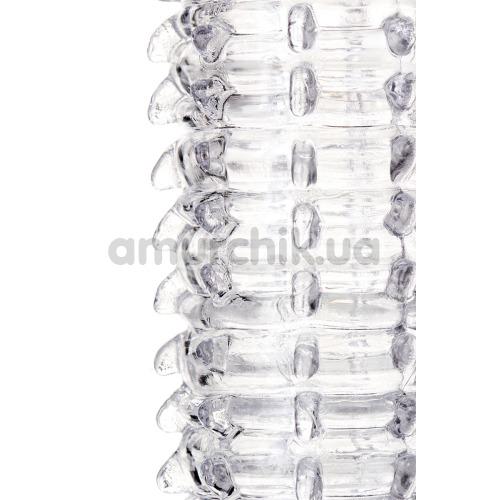 Насадка на пенис A-Toys 15.2 см, прозрачная