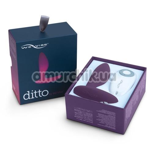 Анальная пробка с вибрацией We-Vibe Ditto Purple (ви вайб дитто фиолетовый)