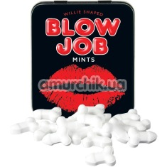 Конфеты без сахара Blow Job Mints, мятные - Фото №1