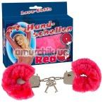 Наручники Handschellen Love Cuffs красные - Фото №1