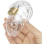 Пояс верности CB-6000S Male Chastity Device, прозрачный - Фото №1