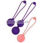 Набор вагинальных шариков L'eroina Bloom - Фото №1