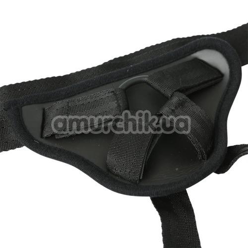 Трусики для страпона Sportsheets Entry Level Strap-On Waterproof, серые
