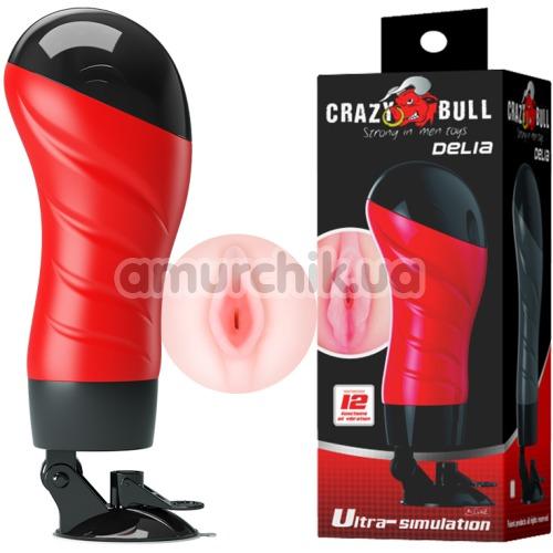 Мастурбатор с вибрацией Crazy Bull Delia 00900T46Z